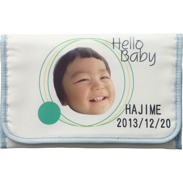 メモリアル母子手帳カバー(お仕立て券) ブルー・ピンク SDAY−07000 P12Sep14