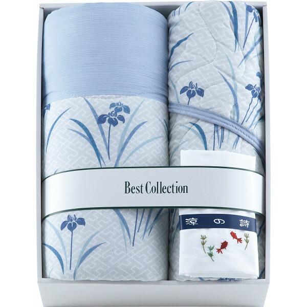 涼の詩 綿楊柳掛敷セット&衿カバー RUS−131 P12Sep14