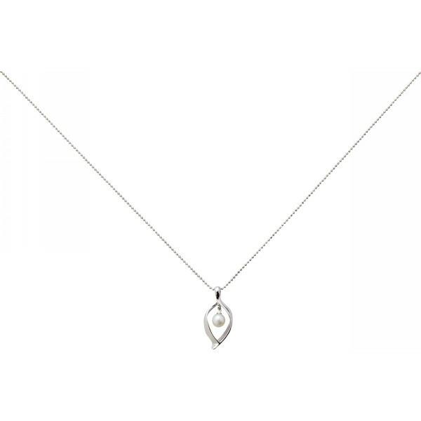 淡水真珠リーフペンダント BZPD−1757 P12Sep14