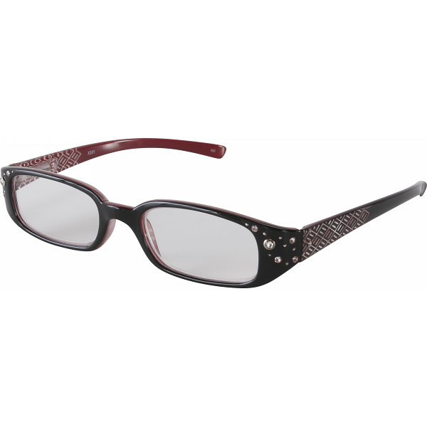 スタイリッシュ老眼鏡(度数1.5、2.0、2.5) ブラック +1.5 XS01 +1.5 エクシーン P12Sep14