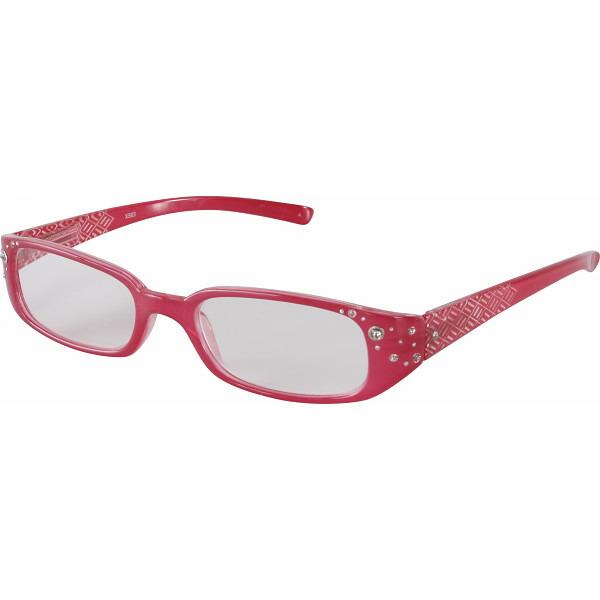 スタイリッシュ老眼鏡(度数1.5、2.0、2.5) ピンク+1.5 XS03 +1.5 エクシーン P12Sep14