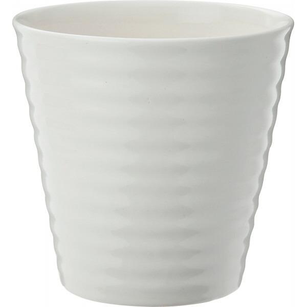 陶器植木鉢2点セット ホワイト UH10/2SWH P12Sep14