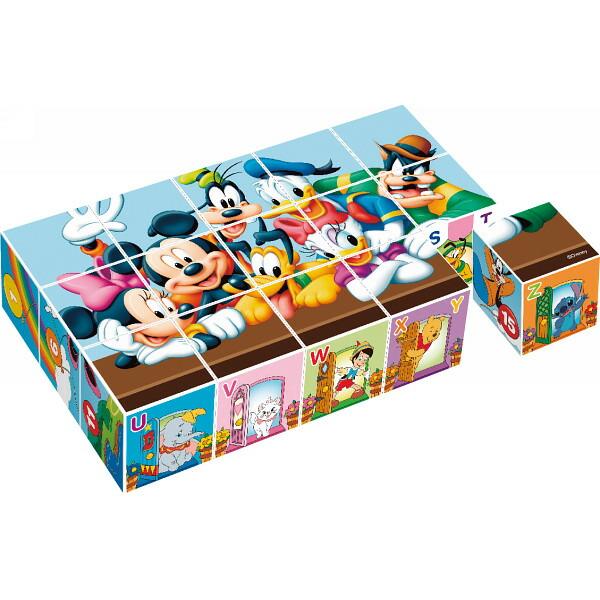 ディズニーキャラクターズキューブパズル 15駒 12−54 P12Sep14