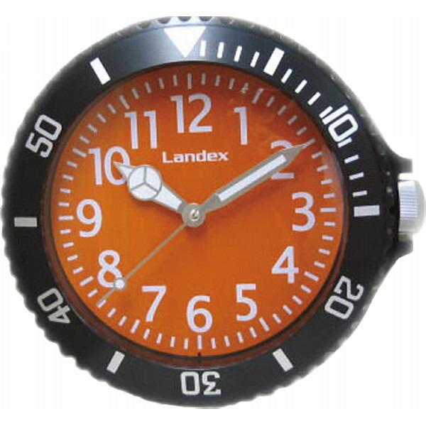 腕時計型掛時計 文字盤オレンジ YW9094BK P12Sep14