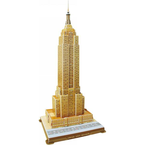 3Dパズル エンパイヤステートビル&ノートルダム寺院 3DPZ−SET A P12Sep14