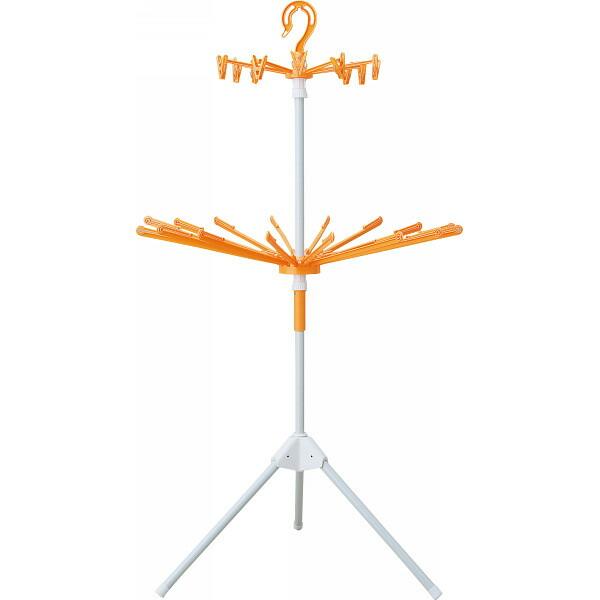 室内物干しスタンド オレンジ TN−481OR P12Sep14