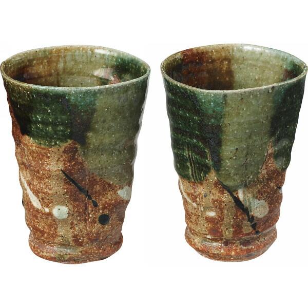 桂山窯 彩織部 ペアフリーカップ 7‐16601 清風 P12Sep14