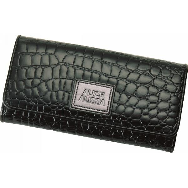 アリスアリサ レディス長財布 ブラック S−AAL103501 BK P12Sep14
