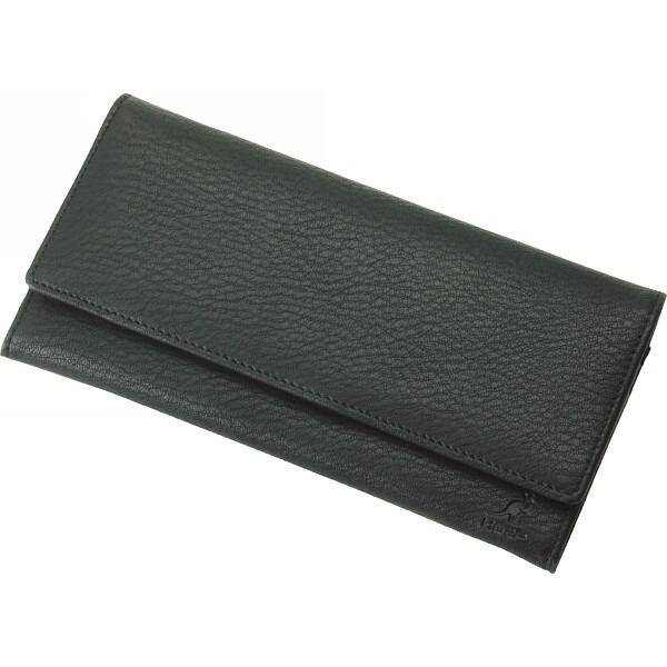 カンゴールスポーツ 紳士用長財布 ブラック S−KGE103517BK P12Sep14