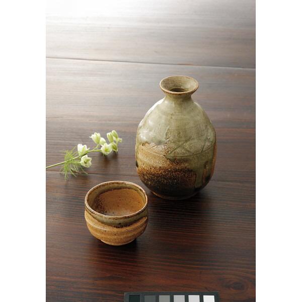 萬古焼 伊賀の里 徳利・ぐい呑セット 37‐97 P12Sep14