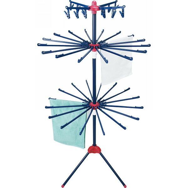 室内物干しスタンド エクセルブルー EC−30XB P12Sep14