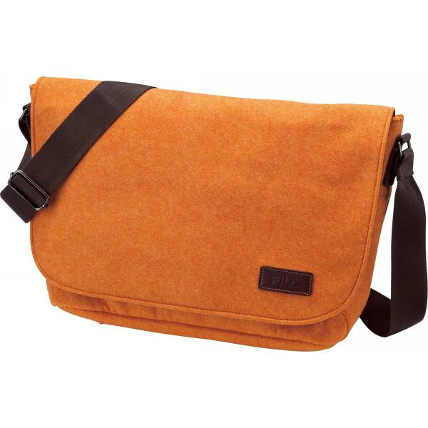 フィラ フェルト ショルダーバッグ横型 オレンジ 13−5929 P12Sep14