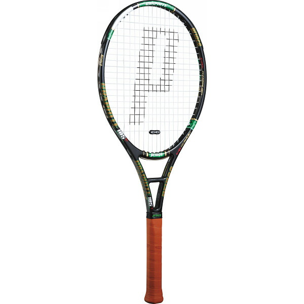 プリンス テニスラケット ブラック×グリーン 7T33N PRINCE P12Sep14