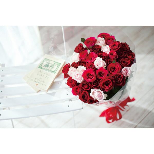 サンキュー 母の日 2014 ギフト 母の日メッセージカード付き花束(バラ39本) 20121128−3(代引き不可)