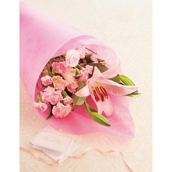 ピンクリリー 花束 母の日 2014 ギフト 母の日メッセージカード付き(代引き不可)