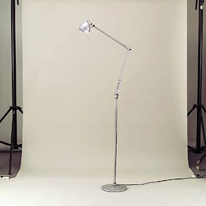 東京メタル工業 フロアースタンド照明 R-8-002LFS 銀(代引き不可) P12Sep14