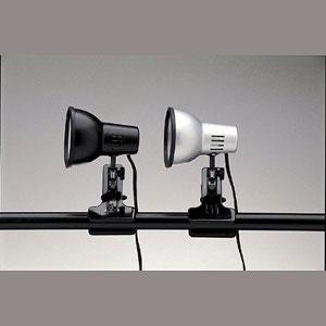 東京メタル工業 クリップライト照明 TE-40CS 銀(代引き不可) P12Sep14