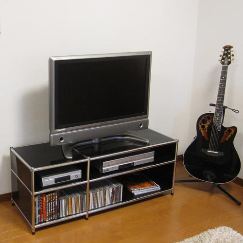テレビ台 ローボード tv台 tvラック テレビラック オフィシア(officia) テレビラック 幅1200 ブラック(代引き不可) P12Sep14