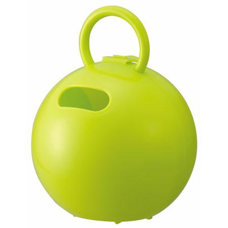 ペーパーホルダー ポイッとボール アップルグリーン(代引き不可) P12Sep14