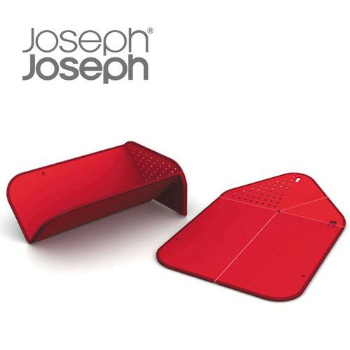 まな板 ジョセフジョセフ 折りたたみ JosephJoseph(ジョゼフジョゼフ) リンスアンドチョップ まな板 レッド(代引き不可) P12Sep14