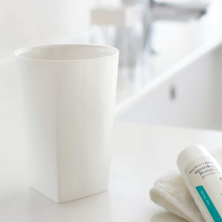 タンブラー 歯磨きコップ ミスト ホワイト(代引き不可) P12Sep14