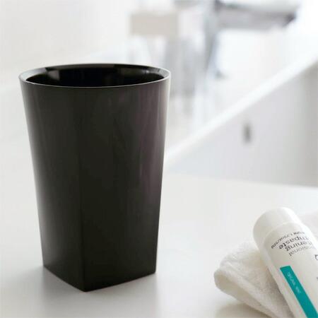 タンブラー 歯磨きコップ ミスト ブラック(代引き不可) P12Sep14