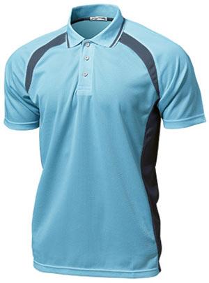 ベーシックテニスシャツ P-1710  サックス P12Sep14