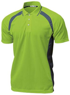 ベーシックテニスシャツ P-1710  ライトグリーン P12Sep14