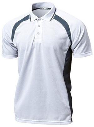 ベーシックテニスシャツ P-1710  ホワイト P12Sep14