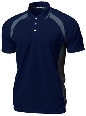 ベーシックテニスシャツ P-1710  ネイビー P12Sep14
