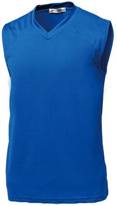 ベーシックバスケシャツ P-1810  ロイヤルブルー P12Sep14