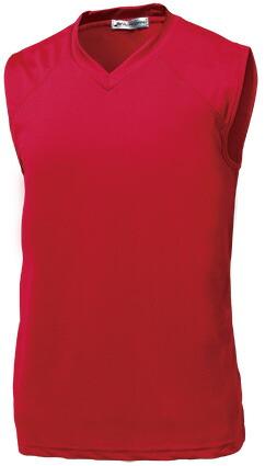ベーシックバスケシャツ P-1810  レッド P12Sep14