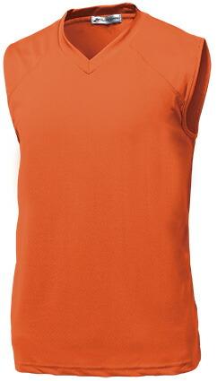 ベーシックバスケシャツ P-1810  オレンジ P12Sep14