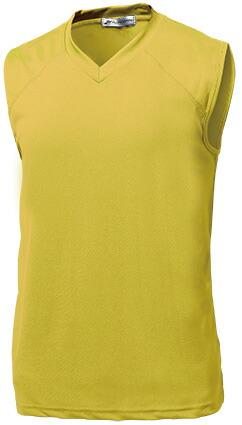 ベーシックバスケシャツ P-1810  イエロー P12Sep14