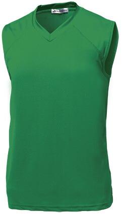ベーシックバスケシャツ P-1810  グリーン P12Sep14
