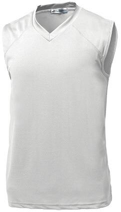 ベーシックバスケシャツ P-1810  ホワイト P12Sep14