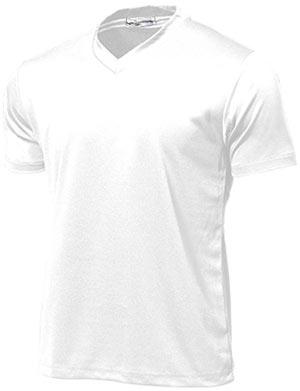 ドライライトVネックTシャツ P-390  ホワイト P12Sep14