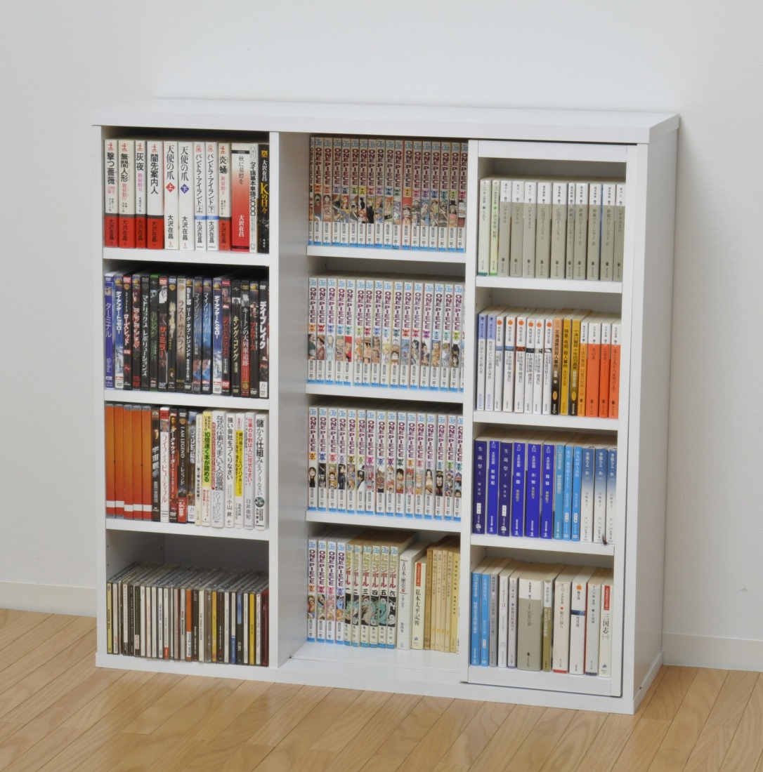 フラップ&スライド書棚セット Jullio(ジュリオ) HN-01004  (代引き不可) P12Sep14