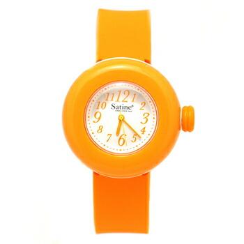 PIERRE HERME ピエール エルメ マカロン ウォッチ Satine サティーヌ レディース 腕時計 MAS-0141426 オレンジ P12Sep14