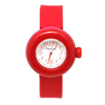 PIERRE HERME ピエール エルメ マカロン ウォッチ Ispahan イスパハン レディース 腕時計 MAI-0141430 レッド P12Sep14
