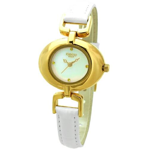 COGU コグ 腕時計 Ryo リョウ OVALシリーズ ゴールド RYO1112G-G3W レディースウォッチ P12Sep14