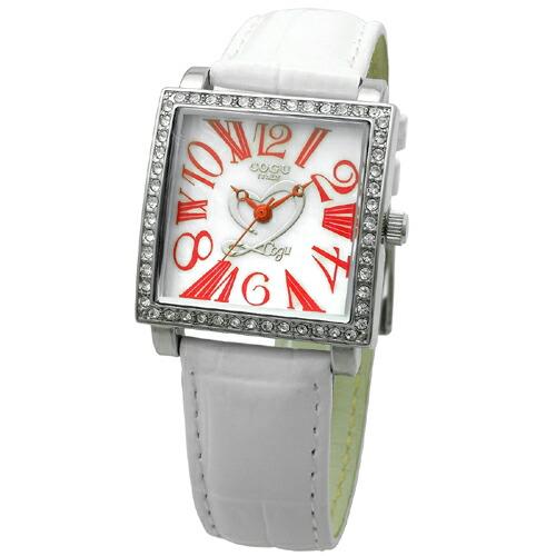 COGU コグ 腕時計 Ryo リョウ スクエアシリーズ ホワイト RYO1206S-R1W レディースウォッチ  P12Sep14