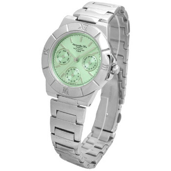 Alessandra Olla アレサンドラオーラ 腕時計 マルチファンクション レディースウォッチ AO-900-6 グリーン P12Sep14