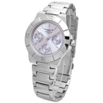 Alessandra Olla アレサンドラオーラ 腕時計 マルチファンクション レディースウォッチ AO-900-7 パープル P12Sep14