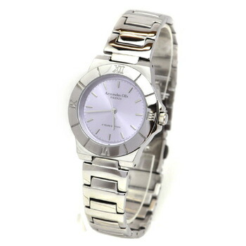 Alessandra Olla アレサンドラオーラ 腕時計 レディースウォッチ シンプルデザイン AO-920-7 パープル P12Sep14