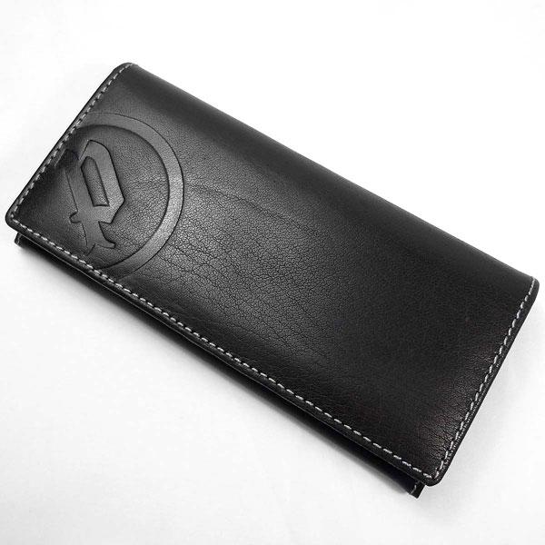 POLICE (ポリス) 牛革 二つ折り長財布 二つ折り ロングウォレット 長財布 メンズ ブラック PA5603 P12Sep14