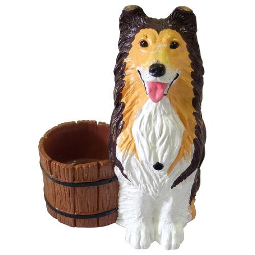 あなたのお家の番犬 おもしろインテリアグッズ ガードドッグ 番犬 コリー P12Sep14
