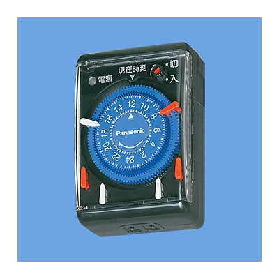 パナソニック電工 WH3301BP パナソニック電工 24時間くりかえしタイマー(ブラック) WH3301BP P12Sep14