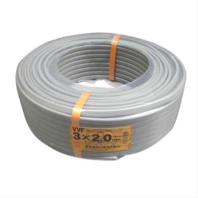 富士電線 富士電線 VVFケーブル 2.0mm×3芯 100m巻 (灰色) VVF2.0×3C×100m P12Sep14
