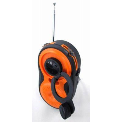 YAZAWA(ヤザワコーポレーション) BL108RMDOR YAZAWA(ヤザワコーポレーション) 手回し・USB充電式 電池が不要!AM/FMシャワーラジオ BL108RMDOR P12Sep14